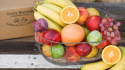 fruit box delivery to office