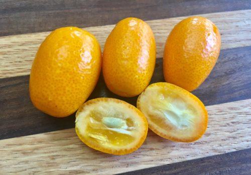 sliced kumquats, how to eat kumquats - daily harvest express - San Diego CSA