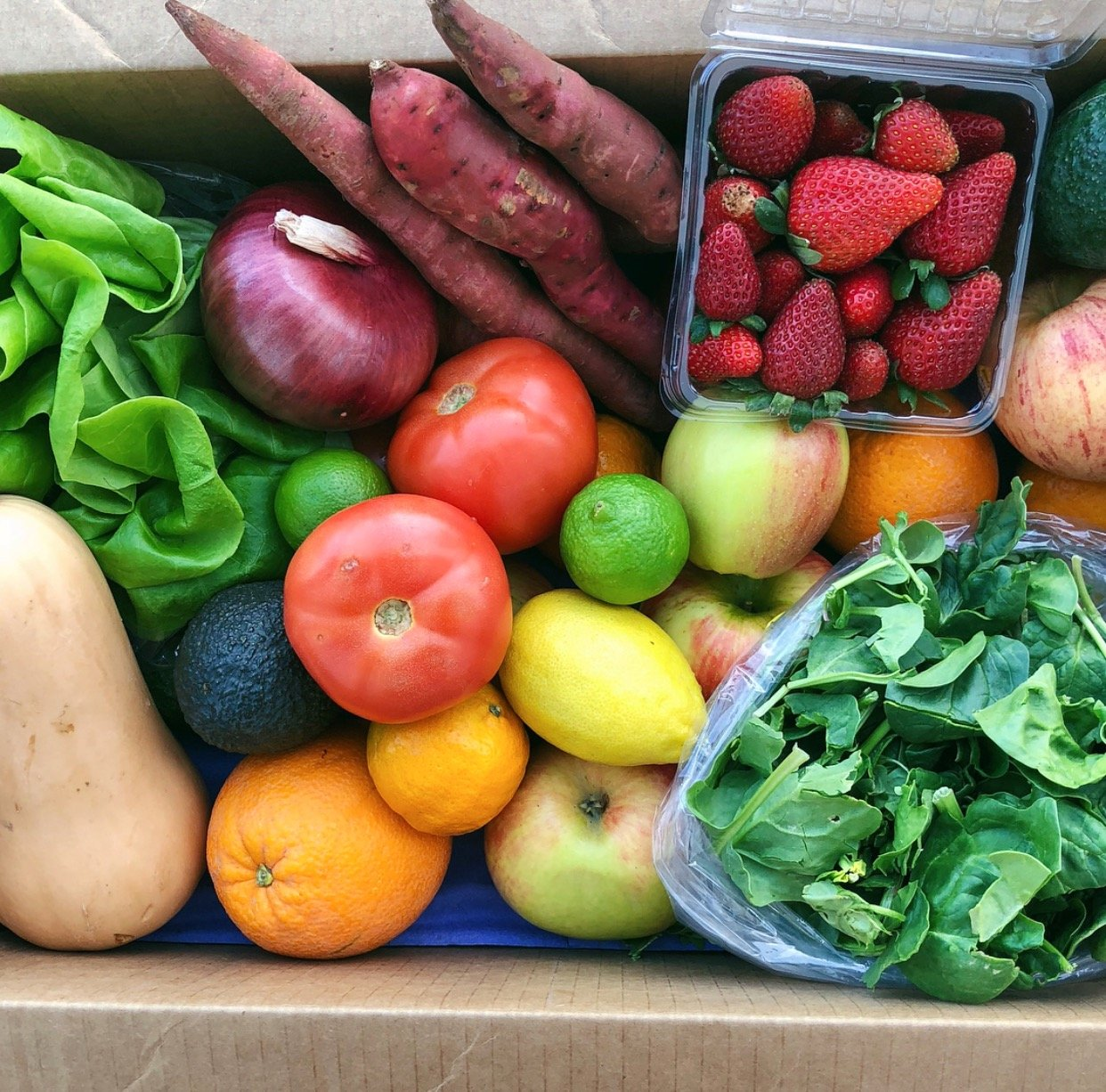 Fruit Amp Veggie Farm Box San Diego Organic Food Delivery