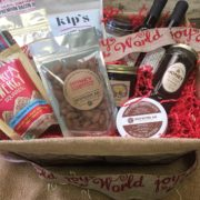 holiday snack basket
