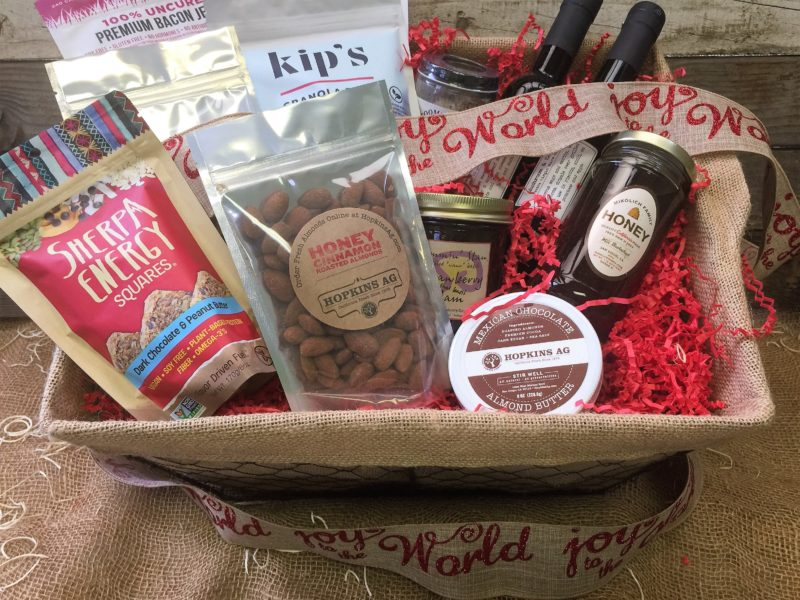 Local San Diego gift baskets and other holiday gifts