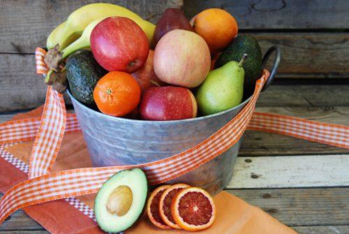 organic fruit basket