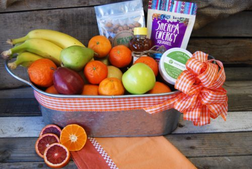 organic snack basket medium