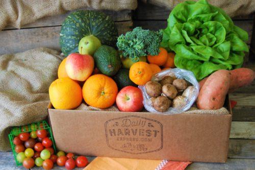 Fruit & Veggie Box Delivery Subscription