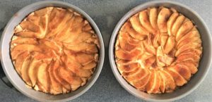 Apple or Pear Cake (vegan recipe)